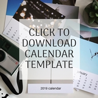 Download Calendar Template Graphic