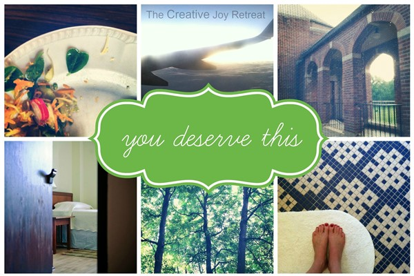 You deserve Creative Joy!