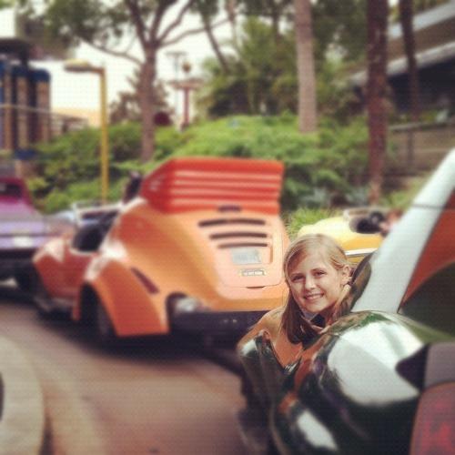 Autopia Ride at Disneyland