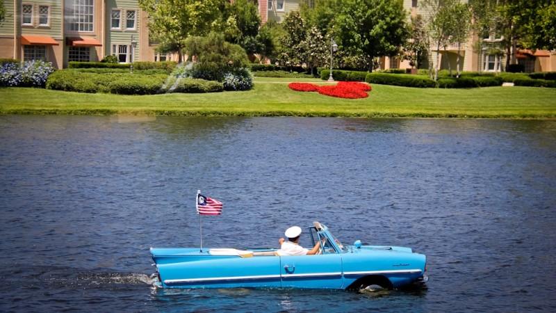 Disney Springs Amphiboats