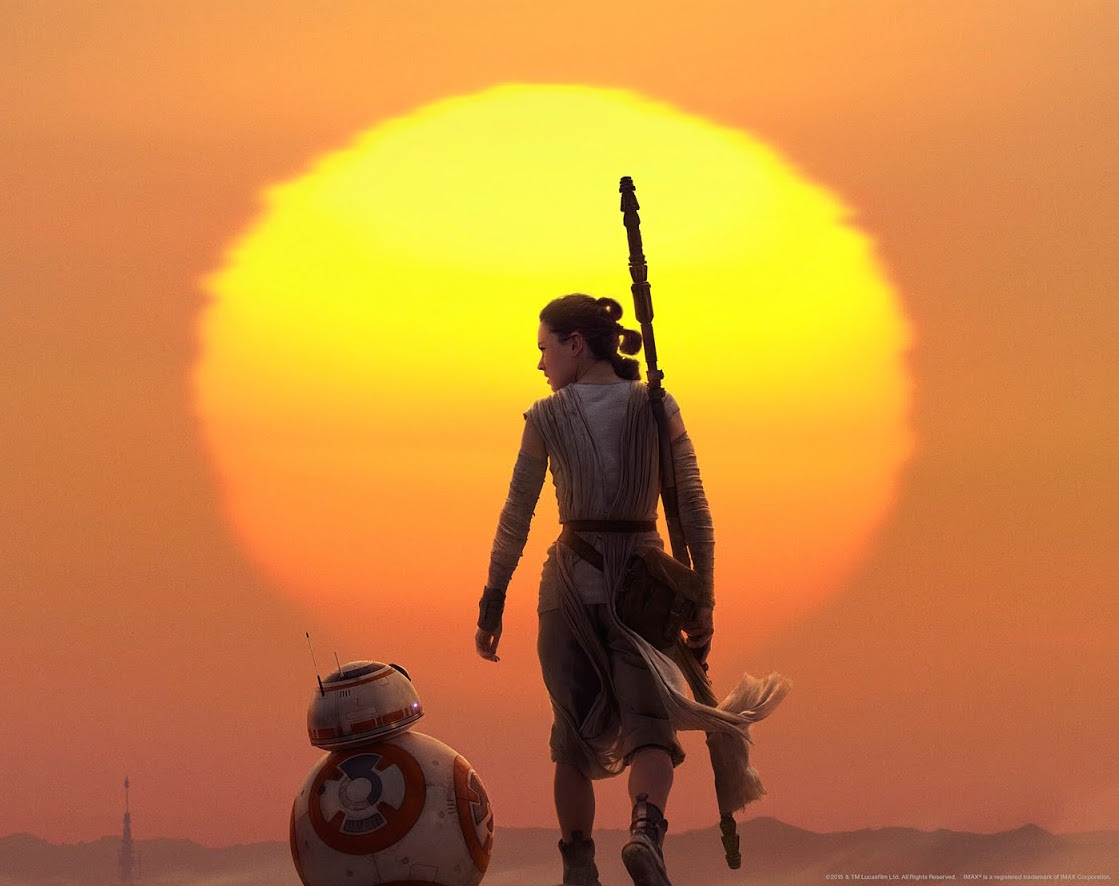 Star Wars - The Force Awakens Rey and BB-8